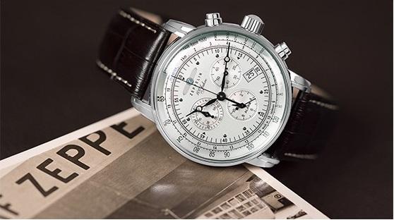Zeppelin on laadukas mutta kohtuuhintainen saksalainen rannekello. Kellojen  valmistuksessa käytetään korkealaatuisia materiaaleja 52d64cd126